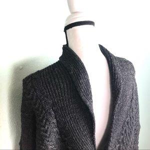 carraig donn Sweaters - Carraig Donn Aran Knit Wool Fishermans Cardigan